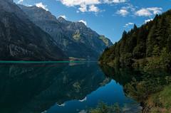 Klntalersee reflection (benno.dierauer) Tags: 70d glarus klntal klntalersee see lake mirror refelections water wasser spiegelung berge mountains