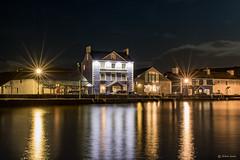Harbourmaster Hotel (Shane Jones) Tags: harbourmasterhotel hotel aberaeron ceredigion night sea harbour lights reflection nikon d500 2470mm wales