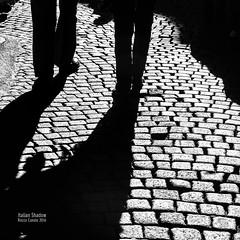 italian Shadows 8 (cuvato rocco) Tags: shadows ombre altocontrasto sanpietrini firenze roccocuvato bianconero blackandwhite persone people
