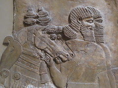 Men & Horses (Aidan McRae Thomson) Tags: nineveh assyrian relief sculpture ancient mesopotamia britishmuseum london