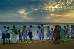 At Dusk.  Colombo (Claire Pismont) Tags: asia asie sea seaside beach pismont clairepismont colorful couleur dusk colombo ceylan sunset travel travelphotography travelshot