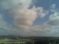 Sydney 2016 Oct 27 09:03 (ccrc_weather) Tags: ccrcweather weatherstation aws unsw kensington sydney australia automatic outdoor sky 2016 oct morning