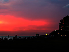 DSCN3309 Red horizon (tsuping.liu) Tags: outdoor organicpatttern ocean colorofsky sky sunset serene sea seaside shore skyline landscape lighting nature natureselegantshots naturesfinest night red redblack shilhouette