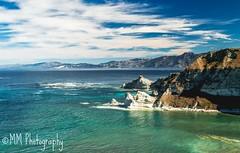Kaikora (MiissMuffet) Tags: d3200 1685mm kaikora southisland newzealand aoteroa outdoors nature landscape seascape rocks hills cliff water sea ocean blue sky nikon waterscape