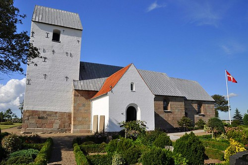 Aggersborg romanesque church