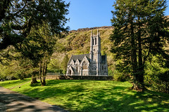 Neo-Gothic Church at Kylemore Abbey - Connemara (Gareth Wray - 9 Million Views - Thank You) Tags: ireland historic history home house building lake mountain world forest natural old abandoned windows gareth wray photography strabane nikon hdfox hd fox summer landscape landmark tourist tourism scenic visit sight irish county galway kylemore connemara castle stone gardens architecture famous walls fortress details d5300 field hill tree 1024mm bishop day photographer monks ring reflection church gothic trees site vacation holiday europe cathedral chapel neo neogothic wild atlantic way arch vault aisle