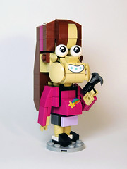 Mabel (LittleTaggy) Tags: gravityfalls lego mabel pines