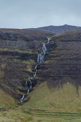 cascade (sixthofdecember) Tags: travel iceland europe snfellsnes nature outside outdoors nikon nikond5100 tamron tamron18270 landscape overcast cloudy waterfall water cascade mountain