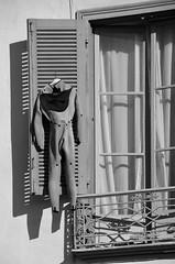 (Jean-Luc Lopoldi) Tags: bw noiretblanc volet plongesousmarine scubadiving drying schage soleil fentre bayonne paysbasque