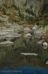 Batcrabère flow (AJ Mitchell) Tags: pyrenees reflection steppingstones