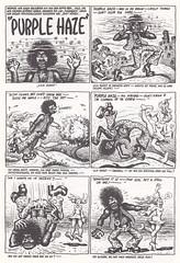 Robert Crumb / Endzeit Comics / page 102 (micky the pixel) Tags: comics comic comix undergroundcomics buch book livre zweitausendeinsverlag robertcrumb endzeitcomics purplehaze hippie trip lsd