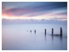 Silent Witness (picturedevon.co.uk) Tags: teignmouth teignbridge devon england unitedkingdom sunrise colour coastline seascape water waves le longexposure fineart minimalist sky clouds beach