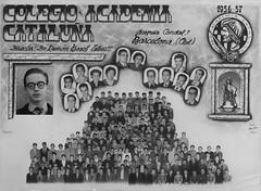 La meva escola # My school, Barcelona 1956 (heraldeixample) Tags: heraldeixample barcelona catalunya catalonia catalua cataloagne catalogna espanya spain espaa spanien noi boy chico garon junge dreng bachgen buachaill  gutt biat   menino escola school escuela 1956 1957 albertdelahoz