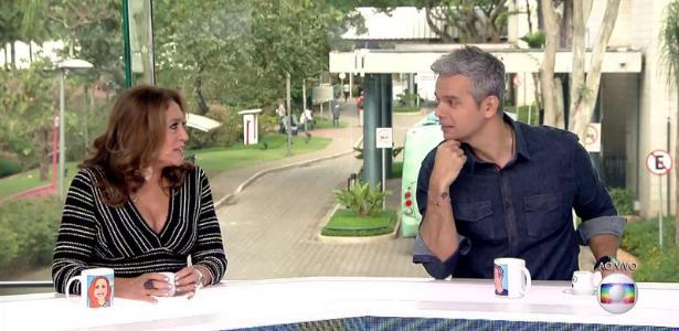 """""""Você foi muito bonita"""", diz Otaviano Costa para Susana Vieira"""
