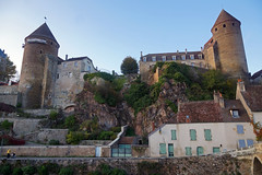 2016-10-24 10-30 Burgund 565 Semur-en-Auxois (Allie_Caulfield) Tags: foto photo image picture bild flickr high resolution hires jpg jpeg geotagged geo stockphoto cc sony alpha 77 france frankreich burgund bourgogne ctedor historic city altstadt semur en auxois semour stiftskirche notredame