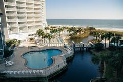 Vacation Photo (2 of 30) (This_is_JEPhotography) Tags: beach resort myrt myrtle south carol carolina water ocean palm trees beautiful outdoors balcony sunlight light bridge