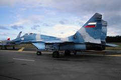 MiG-29S (Pentakrom) Tags: mikoyan mig29 russian air force sbac farnborough 1994