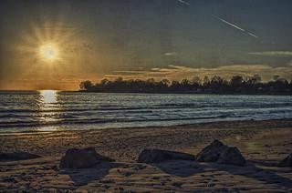 Coda: Just another sunset captured... ho, hum... yawn...