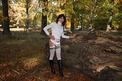 IMG_5301 (Kira Dede, please comment my photos.) Tags: kiradede kirad 2016 crossdresser copenhagen lingerie stockings upskirt dyrehaven