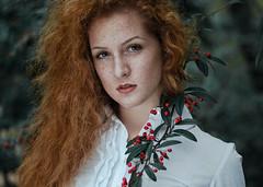Marta (Litvac Leonid) Tags: portrait natural light daylight redhead ginger freckles mood moody nikon italy ll photography litvac leonid 50mm