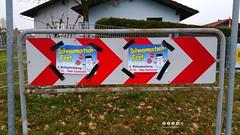 Schilder > Zeichen 625 - Richtungstafel in Kurven (warata) Tags: 2016 deutschland germany schilder signs