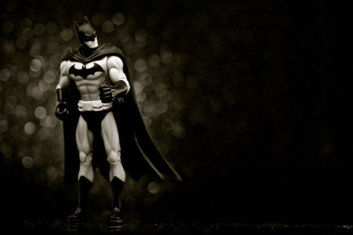 Infinite Batman (Black & White) by JD Hancock, on Flickr