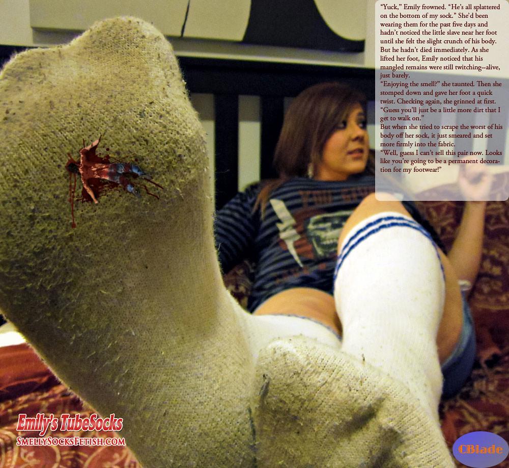 Crush foot fetish stories