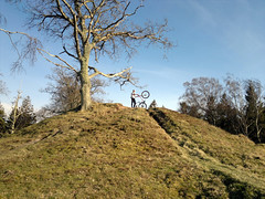 top of hill (Riemanello) Tags: trip copenhagen denmark biking mtb swift ritchey voodoo 29er singular p29er