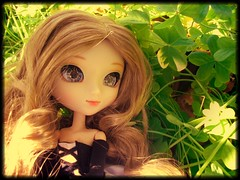 Dias de primavera ^^ (Lois Wayne) Tags: forest fan outfit flat chips planning sphere wig blonde groove pullip custom odin blanche xiao jun rewigged