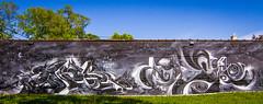EWOK//DAESK (TheLost&Found) Tags: street bridge urban streetart art minnesota wall