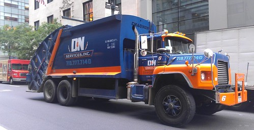 Flickriver: Photoset 'NYC Garbage Trucks' by RB