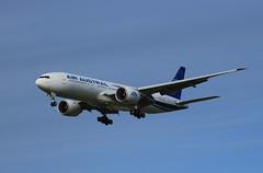 F-OLRB Air Austral Boeing 777-200LR/F (Chuck Stephens) Tags: canon pdx boeing dslr canondslr airplanespotting iraqiairways canonphotography aircraftspotting 77729mlr ln1006 boe117 cn40993 folrb b772l n736fe yiaqz austral77729mlrb772