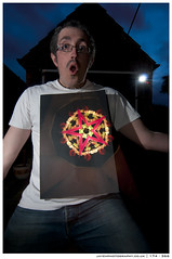 I think i'm cracking up | 174 - 366 (~ jules ~) Tags: longexposure light red selfportrait lightpainting black me yellow night self painting nikon paint kaleidoscope tokina torch cls maglite selfie offcameraflash stobist 1116mm d300s sb700 mustgetablacktshirt growupmarshall sowhatdidyoudotonightdontask