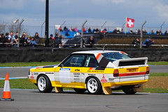 Audi Quattro S1 (shutcho1973) Tags: b car with rally group 4wd s1 audi quattro rallying doningtonhistoricfestivalcar