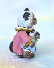 hilary-heather-himalayan-rs (ruffingsartdolls) Tags: original sculpture cats cat miniatures miniature handmade originalart oneofakind ooak painted handpainted collectible collectables collectable sculpted handmadedoll catart handsculpted catdoll paperclay maxbailey handscupted catartdoll ruffings