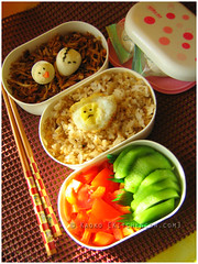 Why Bento? (kaoko) Tags: food cute lunch bento packedlunch obento baon charaben kyaraben