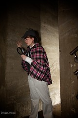 Mercer Museum Cosplay Photoshoot (nraupach) Tags: brown museum photo costume photoshoot photos cosplay pennsylvania mercer spooky doylestown tina holmes sherlock