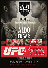 UFC3Feb FacebookPoster 4Jan (AB Hotel Syd) Tags: posters ufc