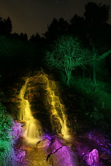 (garnatha) Tags: ireland lightpainting night waterfall wicklow sooc