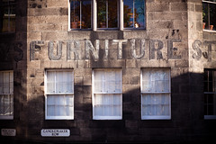 Furniture (Hal Bergman Photography) Tags: building sign scotland edinburgh furniture nobody