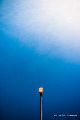 If I was a streetlamp with sunlight (BraqueLee) Tags: street abstract lamps concept