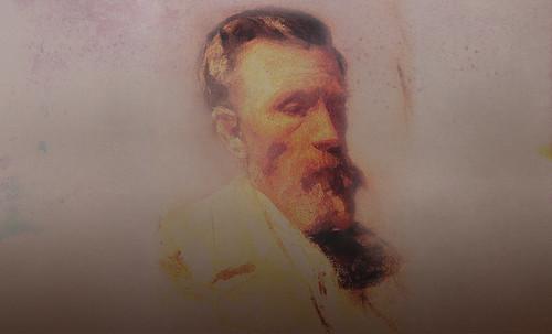 """Mentores, homenaje a Vincent van Gogh de Henri de Toulouse Lautrec (1887), y al padre de Pablo Picasso (1896). • <a style=""""font-size:0.8em;"""" href=""""http://www.flickr.com/photos/30735181@N00/8815685424/"""" target=""""_blank"""">View on Flickr</a>"""