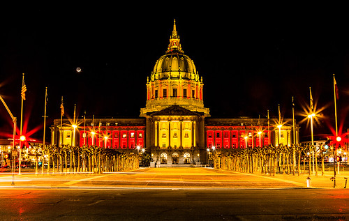San Francisco City Hall, 49ers edition