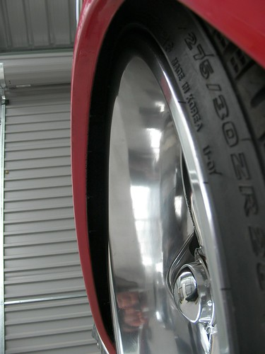 "20 inch wheels 1957 Chevy Showwheels Streeter wheels polished • <a style=""font-size:0.8em;"" href=""http://www.flickr.com/photos/96495211@N02/8897302514/"" target=""_blank"">View on Flickr</a>"