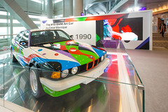 """BMW Art Car #10 by César Manrique, 1990 (730i)"" / BMW Art Car / Art Basel Hong Kong 2013 / SML.20130523.6D.14070 (See-ming Lee 李思明 SML) Tags: china urban hk abstract art cars cn photography hongkong crazy events fineart photojournalism creativecommons bmw forms 中国 城市 香港 hkg journalism hongkongisland 中國 6d manrique wanchai colorist cesarmanrique césarmanrique artbasel 摄影 canon1740f4l 攝影 形 新聞 2013 新聞攝影 ccby seeminglee canonef1740f4lusm bmwartcar 730i canon6d smlprojects crazyisgood 李思明 smlfineart smluniverse canoneos6d smlphotography smlevents smlforms flickrstats:galleries=1 abhk sml:projects=crazyisgood fl2fbp sml:projects=photojournalism sml:projects=smlfineart artbaselhongkong2013"
