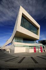 UK - Liverpool - Museum of Liverpool 01 (Darrell Godliman) Tags: uk greatbritain england museum architecture liverpool unitedkingdom britain gb modernarchitecture contemporaryarchitecture 3xn museumofliverpool 3xnarchitects ukliverpoolmuseumofliverpool01dsc0736