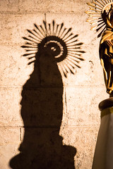 Saintly shadow (ID720603) Tags: camera light shadow art church valencia saint statue lens spain catholic interior kunst religion gear countries ef24105mmf4lisusm valenciancommunity canoneos5dmiii