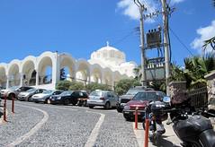 159   Thira cathedral (Mark & Naomi Iliff) Tags: greece ελλάδα santorini σαντορίνη thira θηρα thera fira ελλαδα
