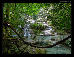 Erawan Waterfalls - Kanchanaburi (NeptuN | neptun-photography.com) Tags: travel thailand lumix panasonic waterfalls kanchanaburi erawan anawesomeshot dmcfx35