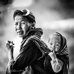 Ngi dn tc Dao trn Sa Pa (Trinh Quang Minh) Tags: lens nikon pa sa f28 lao nam 70200mmm caiviet